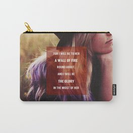 WALL OF FIRE Carry-All Pouch