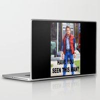 marty mcfly Laptop & iPad Skins featuring MARTY by Dora Birgis