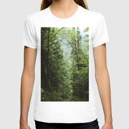 Deep Green Forest T-shirt