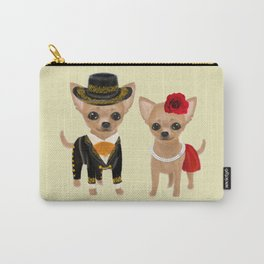 chihuahua couple mariachi Carry-All Pouch