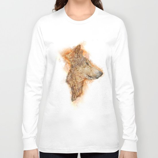 Wolf Flare Long Sleeve T-shirt