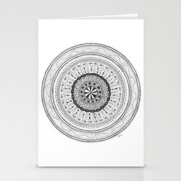 Zendala - Zentangle®-Inspired Art - ZIA 17 Stationery Cards