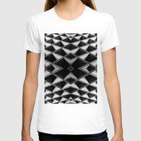grid T-shirts featuring Grid by blurdvizionz