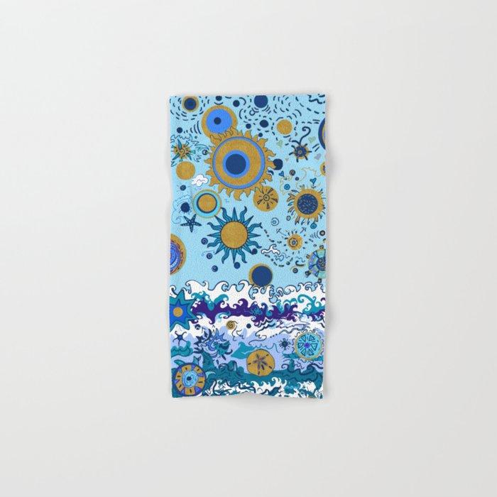 Sun & Sea Hand & Bath Towel