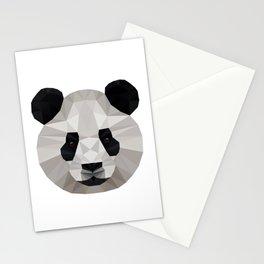 Geometric Panda Stationery Cards