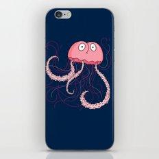 Jellyfish Buttface iPhone & iPod Skin