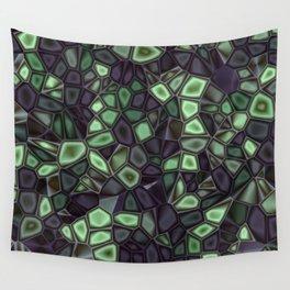 Fractal Gems 04 - Emerald Dreams Wall Tapestry
