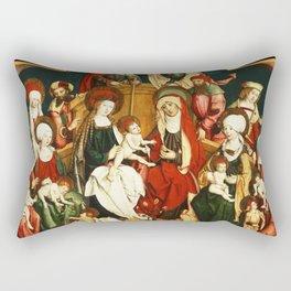 The Holy Kinship Rectangular Pillow