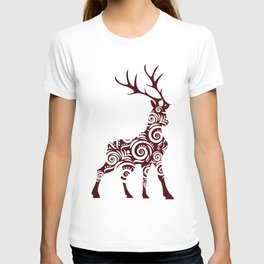ornamental stag T-shirt