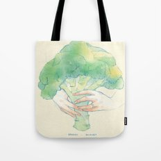 Broccoli bouquet Tote Bag