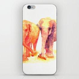 A couple of elephants iPhone Skin