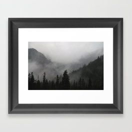 I Love This Place Framed Art Print