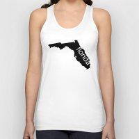 florida Tank Tops featuring Florida by Isabel Moreno-Garcia
