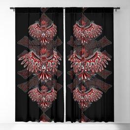 Eagle Tattoo Style Haida Art Blackout Curtain