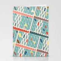 miami Stationery Cards featuring Miami by Lisa Romero