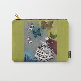 House of Butterflies Carry-All Pouch