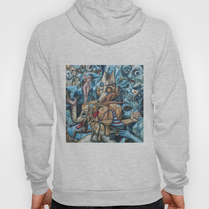The Sea In The Fish Hoody
