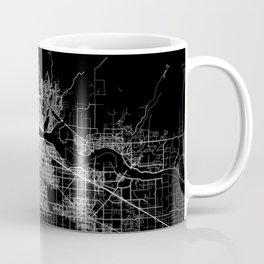 vancouver map canada Coffee Mug