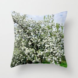 Flower explosion II Throw Pillow