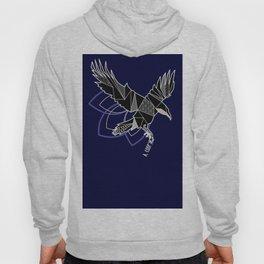 Geometric crow Hoody