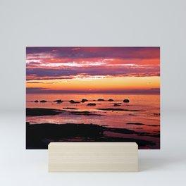 Sainte-Anne-Des-Monts Signature Sunset Mini Art Print