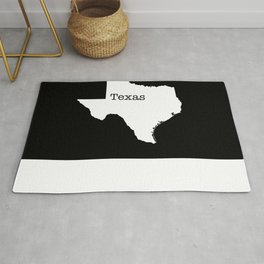 Texas State outline  Rug