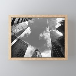 City of London Skyscrapers Framed Mini Art Print