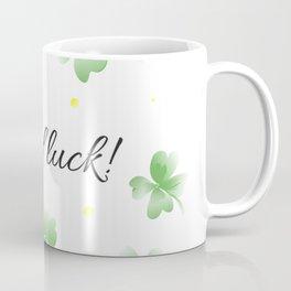 Four leaf clover design,good luck Coffee Mug