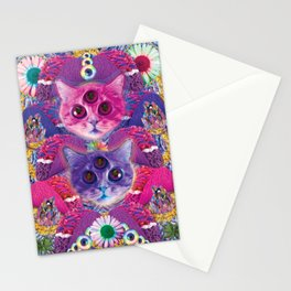 3rd eye tacocat Stationery Cards