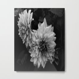 Darkness Blooming Metal Print