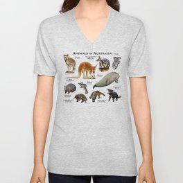 Animals of Australia Unisex V-Neck