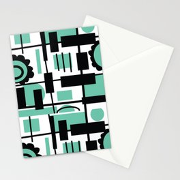 Teal is the new Black Stationery Cards