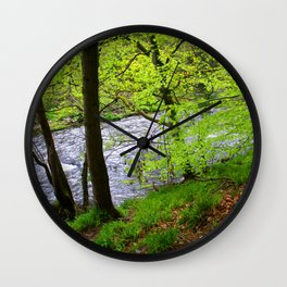 Beauty Of Spring Wall Clock
