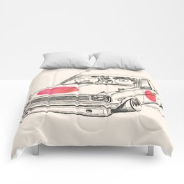 Crazy Car Art 0169 Comforters