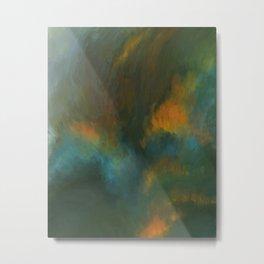 Meadow on Fire Metal Print