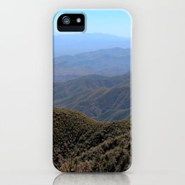 Four Peaks iPhone Case