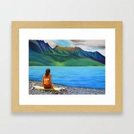 Epuyén Lake  Framed Art Print