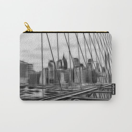 Manhattan NY Carry-All Pouch