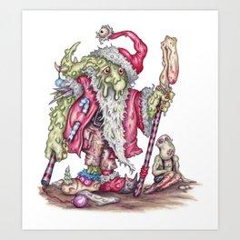 Santanist Horc Art Print