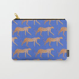 Leopard - Orange Carry-All Pouch