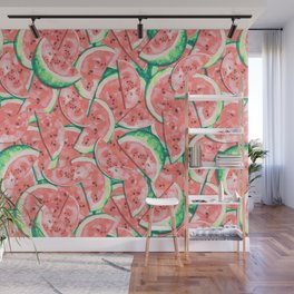 Watermelons Forever | Pastels Wall Mural
