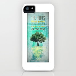 Roots of the Tree iPhone Case