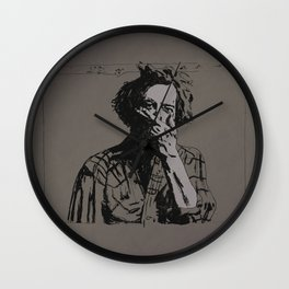 Justin Vernon - Bon Iver Wall Clock