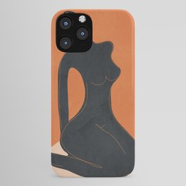 Abstract Nude II iPhone Case