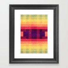 Summer Dreams Abstract Framed Art Print