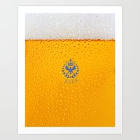 Sparkling Zuno Beer 01 Art Print