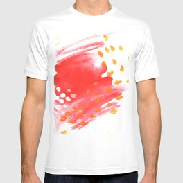 Melt Abstract Watercolor T-shirt