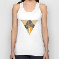 pyramid Tank Tops featuring Pyramid by ErDavid