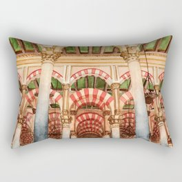 Mezquita de Cordoba - Spain Rectangular Pillow