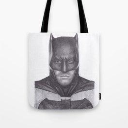 Ben Affleck Bat man Tote Bag